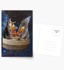 birthday buds Postcards