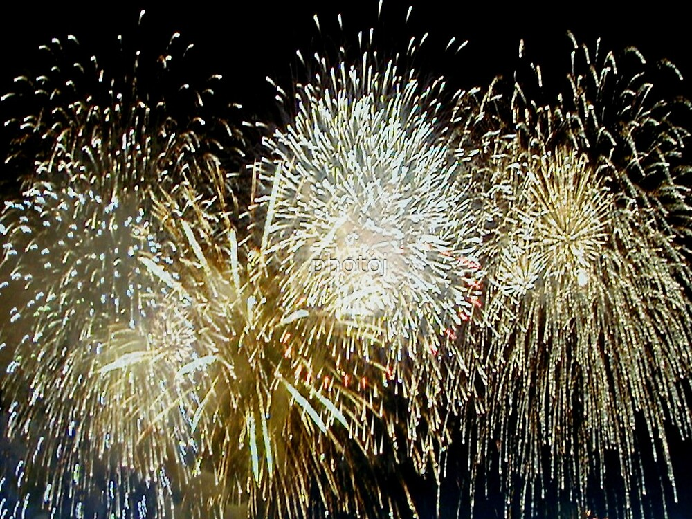 photoj New Year Firework  by photoj