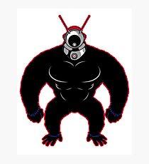 B-Movie Robot Monster Alien Invader Photographic Print