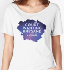 ACOWAR - A Court of Wanting a Rhysand Women's Relaxed Fit T-Shirt