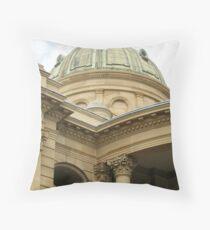 Customs House, Rockhampton, QLD Throw Pillow