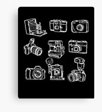 Photographer Camera Canvas Print