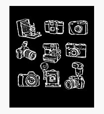 Photographer Camera Photographic Print