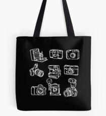 Photographer Camera Tote Bag