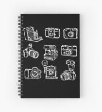 Photographer Camera Spiral Notebook