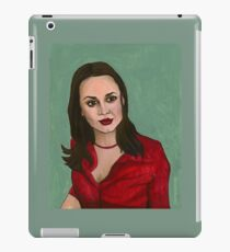 Enemies - Faith - BtVS iPad Case/Skin