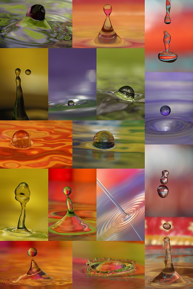 Water Drop Collection  by Kurt Hawkins