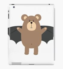 Vampire Grizzly Bear Re206 iPad Case/Skin