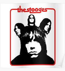 The Stooges Shirt Poster