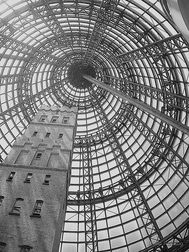 Coops Shot Tower  by Philip Johnson