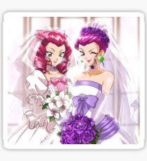 Jessie and Jessiebelle Sticker
