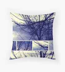 Indigo Blue Throw Pillow