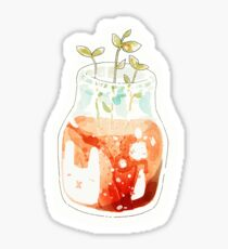 plant panna cotta. Sticker