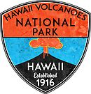 HAWAII VOLCANOES NATIONAL PARK VOLCANO HIKING NATURE EXPLORE by MyHandmadeSigns