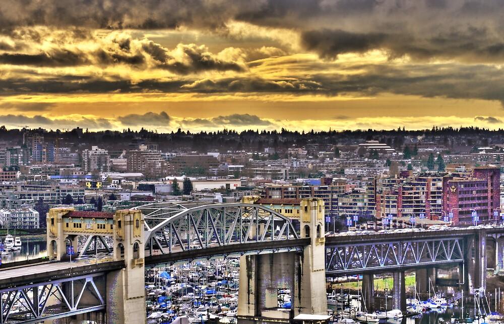 Urban Skies by John Heil