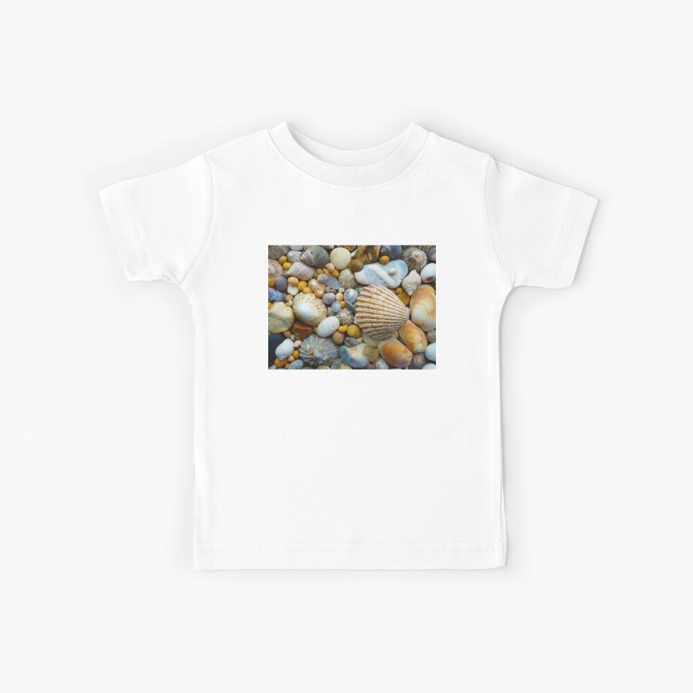 Sea Shells a plenty Kids T-Shirt