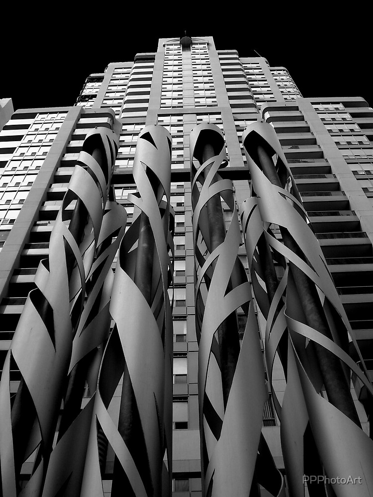 Sculpture and Condo by PPPhotoArt