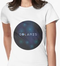 Solaris, George Clooney, Steven Soderbergh, Stanisław Lem, Natascha McElhone Camiseta entallada para mujer