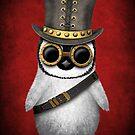 Steampunk-Baby-Pinguin von jeff bartels