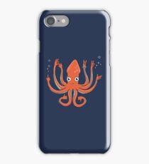 Octopus Signals iPhone Case/Skin
