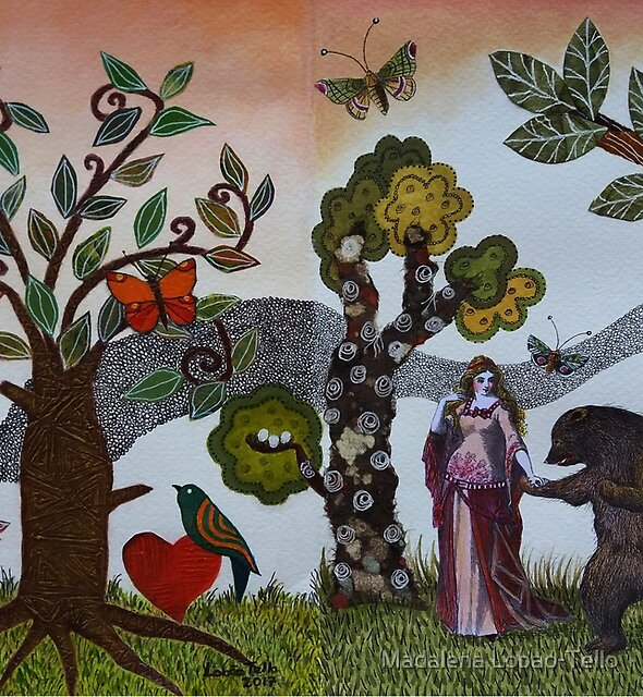 Once upon a time an enchanted forest... by Madalena Lobao-Tello