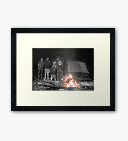 Campers Framed Print