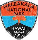 HALEAKALA NATIONAL PARK HAWAII VOLCANO HIKING NATURE EXPLORE by MyHandmadeSigns