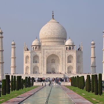 Taj Mahal New Delhi by EdmondHoggeJr