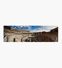 The Colosseum - Rome Photographic Print