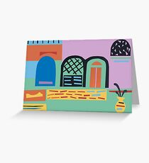 One winter day in Spain... Greeting Card