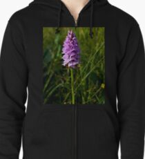 Spotted Orchid, Kilclooney, Donegal Zipped Hoodie