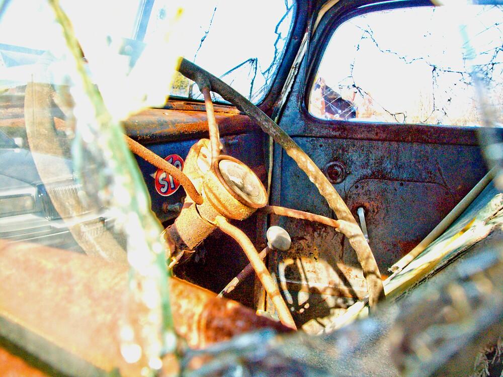 Rusty Truck Series #11 by Rod  Adams