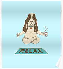 Dog Relax Poster