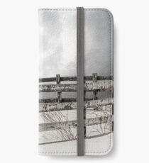Winter White Horse iPhone Wallet/Case/Skin