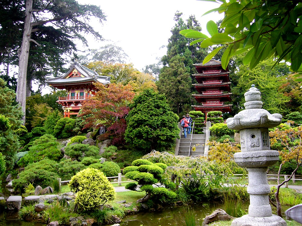 Japanese Garden, Golden Gate Park (San Francisco) by MeredithW