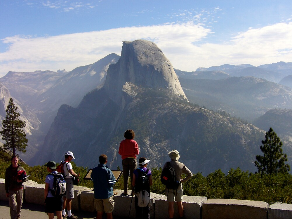 Half Dome, Yosemite National Park by MeredithW