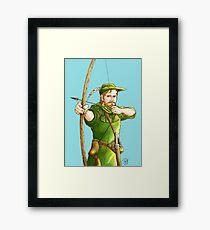 Robin Hood: The Legend Framed Print
