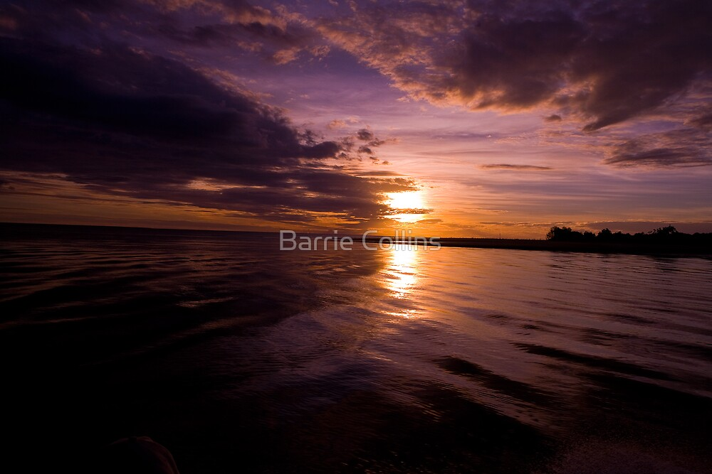 Territory Sunset by Barrie Collins