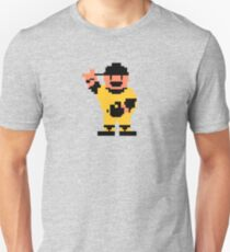 R.B.I. Baseball 8-bit - Pittsburgh Slim Fit T-Shirt