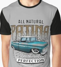 All Natural Patina Blue Graphic T-Shirt