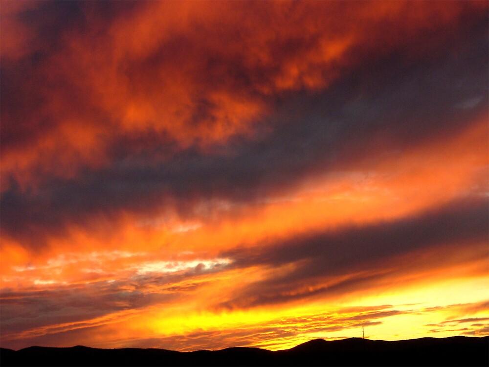 Arizona sunset, San Miguel by MeredithW
