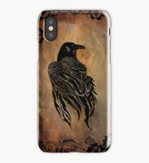 Clockwork Raven iPhone Case