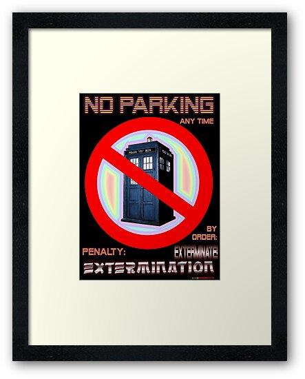 Dalek No Parking Sign Mk.2 by muz2142