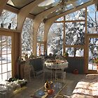 Winter Sun Room by Diane Arndt