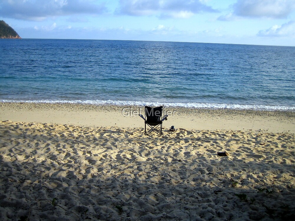Beach chair by Giel Meijer