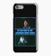 Twilight Zone - Dan Aykroyd Hitchhiker iPhone Case/Skin