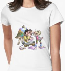 Family of Young Artists Womens Fitted T-Shirt