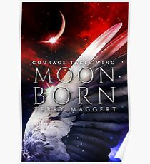 YA Fantasy Cover Art: Moonborn Poster