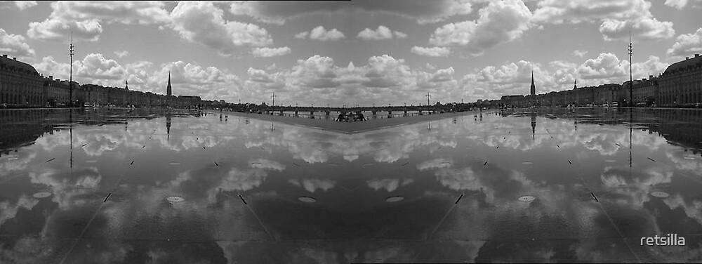 Mirror Image of Mirror Image by retsilla