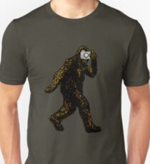 Bigfoot With Camera Unisex T-Shirt